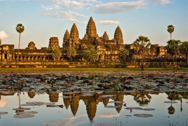 Angkor-temple-in-Cambodia-