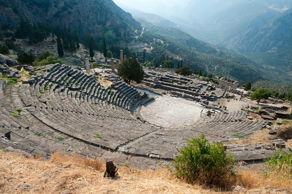 Delphi, Ancient Greek Theatre