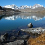 Crows Lake in North Sikkim